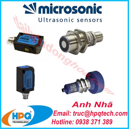 cảm biến Microsonic