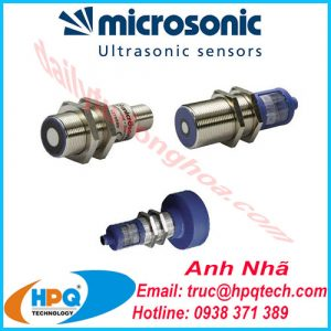cảm biến siêu âm Microsonic